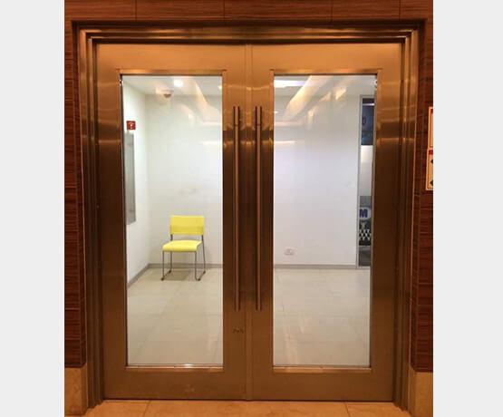 Steel Glazed Fire Door