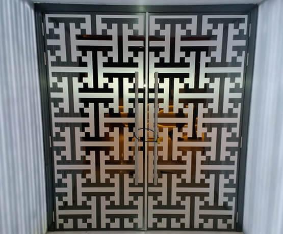 Wooden Fire Rated Cum Acoustic Door