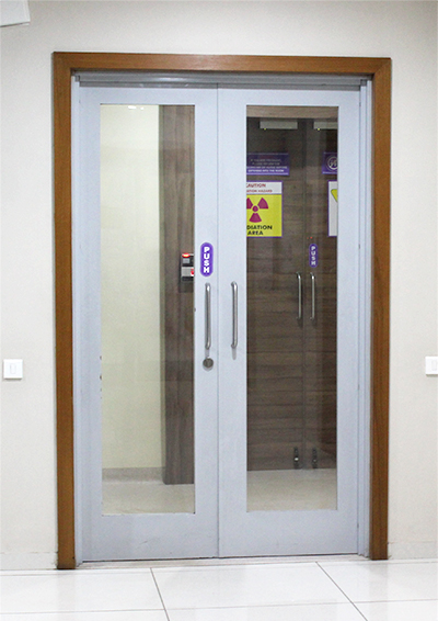 "A brand that offers a single comprehensive solution for""FIRE DOOR""under passive fire protection"
